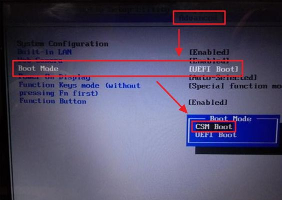 Boot-Mode-CSM-Boot